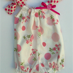 Size 6-12 months Romper Playsuit Pretty Pink Floral
