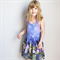 Purple Fairy Forest Overall Dress