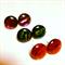 Metallic Swirl Stud Earrings