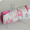 Pink water elephant print trolley mat cover liner with elastic wrap