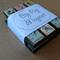 Big Peg Magnet (postage stamps, set of 3)