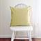 50 cm Apple green (Warwick) cushion - Handmade