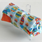 Hot air balloon print trolley mat cover liner with elastic wrap