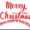 Merry Christ Art Decal Sticker