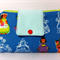 Fabric Wallet Purse, summer 2015, Children of the world, phone sleeve