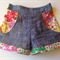 Girls pocket shorts