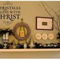 Christmas begins with Christ, Wall Art Decal, Sticker