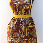 Shades of the Dreamtime ladies traditional apron