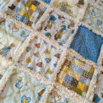 Holly Hobbie Cot Size Ragged Quilt