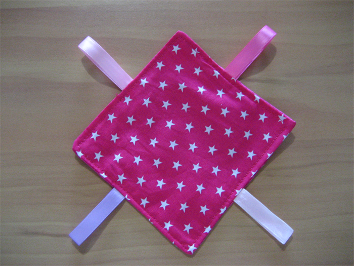 b0cd4dfff8f HOT PINK STARS Baby Doll Carrier Carry Sling + Free mini Doll s Taggie ...