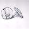 Glass Giraffe Stud Earrings