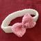 Knitted headband for newborn baby