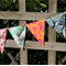 Mini Bunting, flags or banner for child's bedroom, garden, birthday or everyday