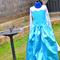 Custom made Frozen / Queen Elsa inspired ballgown style dress /costume