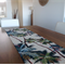 Hawaiian Palms Table Runner. Cream or Black or Sage background.