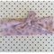 Pastel pink head band dusty pink tree chocolate baby toddler kids adult bow