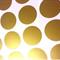 Gold Polka Dot 8.5 cm  Wall Decal Spots