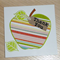 Thank you Teacher card - The Big Apple -  Spots or stripes!