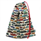Library Bag or Toy Bag. Colourful Retro / Vintage Cars. Great for Car Lovers!