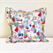 1950s Cushion cover Mid-century vintage sewing notions handmade cover
