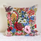 Cushion cover Small Australian wildflowers vintage linen