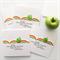 custom teacher card thank you card rainbow