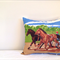 Horse cushion cover Equestrian racing trotting cover