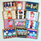 Character Christmas Blank Cards Pack of 12 Bright & fun designs for everyone!