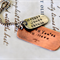 Dad Gift Dog Tags Childrens Names Rustic Gift Christmas Gift for Dad Mens