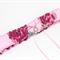 Gorgeous Pink Bridal Garter