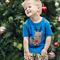 Boys Reindeer Applique Tee Sizes 1-6
