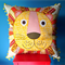 Cushion cover Lion jungle decor Children's play story time cushion