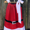 Santa Dress, super cute for Christmas ,  free postage .