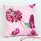 Magnolia Bloom Wedding Ring Pillow