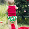 Santa Nappy Cover Sizes 0000-2