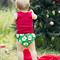 Santa Nappy Cover Sizes 0000-2 Red Christmas Boys