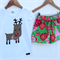 Christmas Sassy Shorts and matching applique top