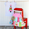MODERN Christmas Patchwork Twirl Skirt + Top Set Sizes 4-6