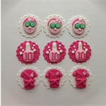 Pamper Party/Sleepover Themed Cupcake Toppers