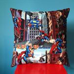 Cushion cover Superman Metropolis DC Comics superhero made with Superman fabric