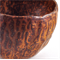 Ceramic Stoneware Condiment Trinket Bowl Matt Orange Brown Handmade Home Decor