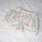 Mint & Pink bubble pocket shorties - custom size 0 - 4