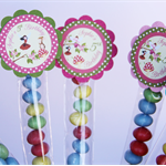 8 Pack Woodland Fairy Tube Birthday Party Favour