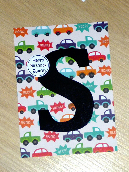 Personalised Boys Or Girls Happy Birthday Cards Cars Or Space