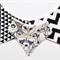 Set of 3 Monochrome Bandana Bibs