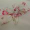Cotton Headband    Little Roses on Cream    Knotted Headband
