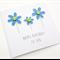 Handmade Birthday Card - Happy Birthday to you - Ocean Blue