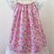Dainty rose flutter dress sz 3