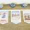 Thomas the Tank Engine Bunting Christmas Party Wall Hanging Trains Children