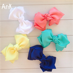 Alana Bow - navy, white, yellow, turquoise or coral